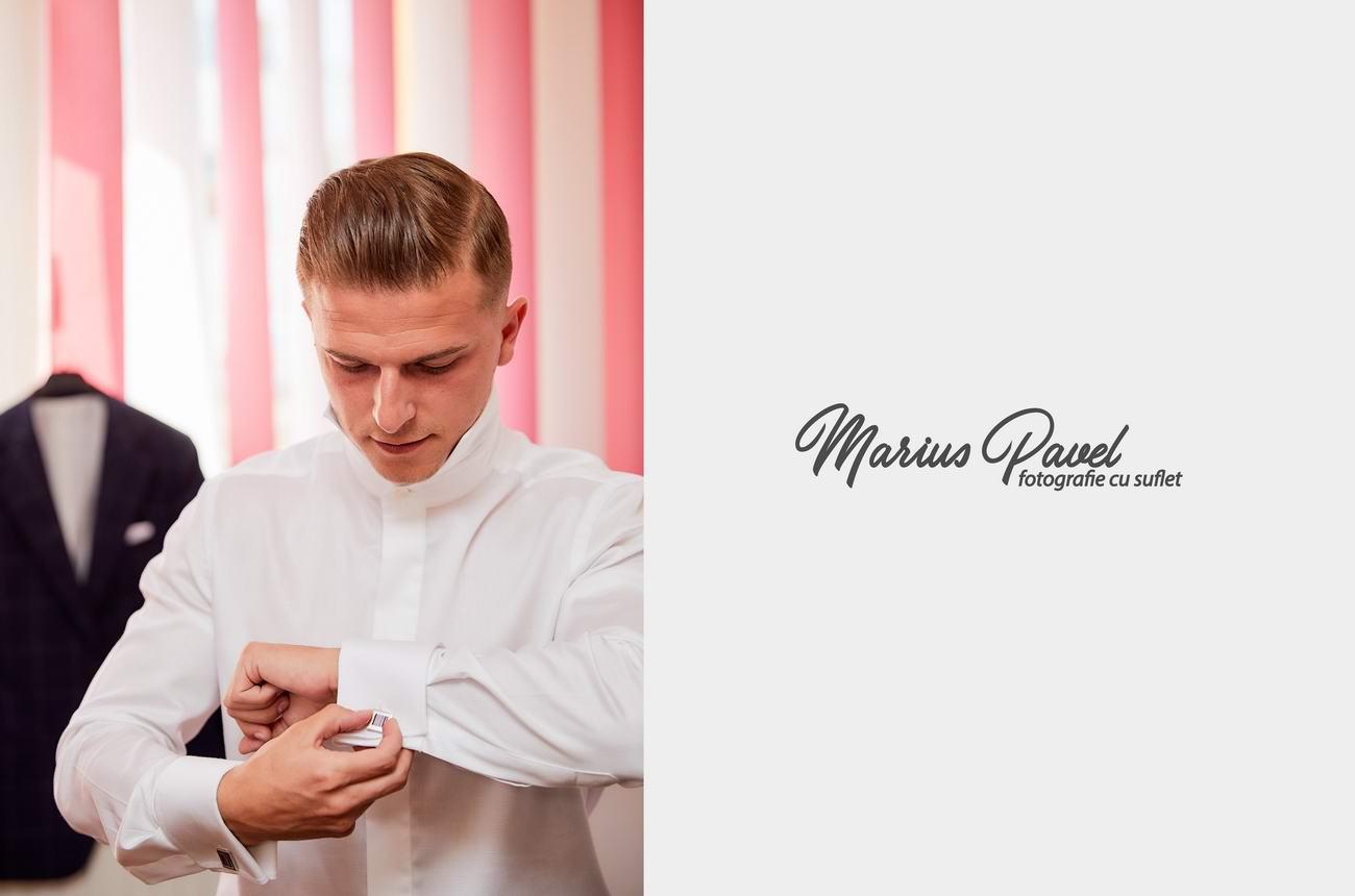Fotografii cu pregatirea mirelui - fotograf Brasov