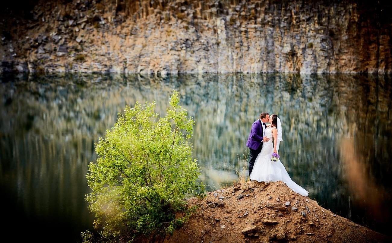 Fotografii miri lacul de smarald Racos