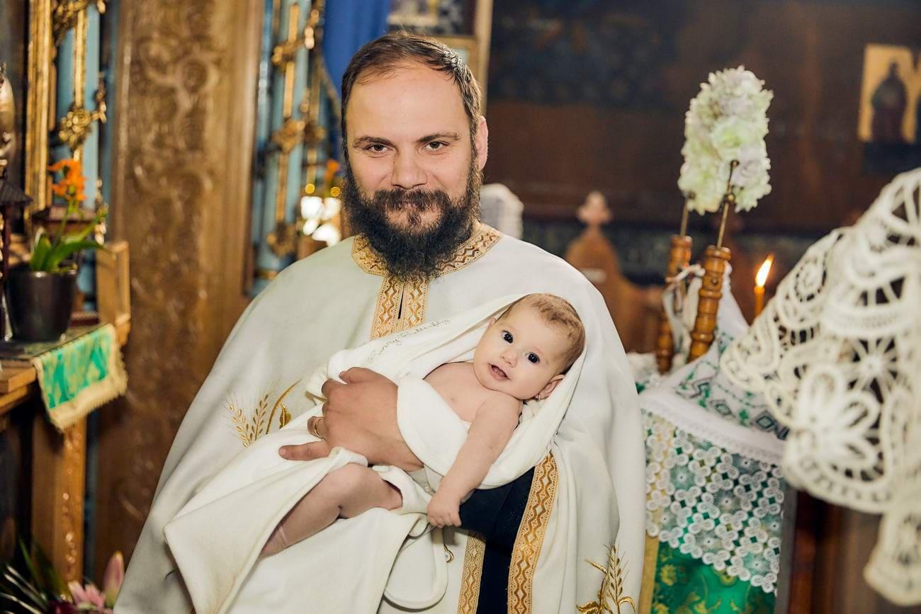 fotografii de la botez biserica Brasov