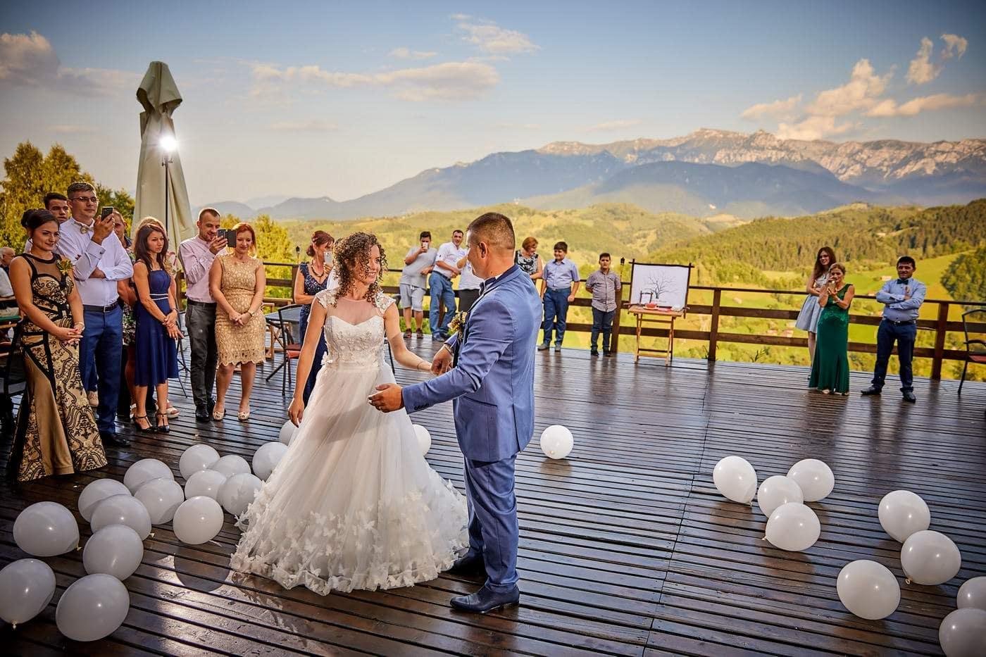 Nunta Moeciu - petrecerea nuntii