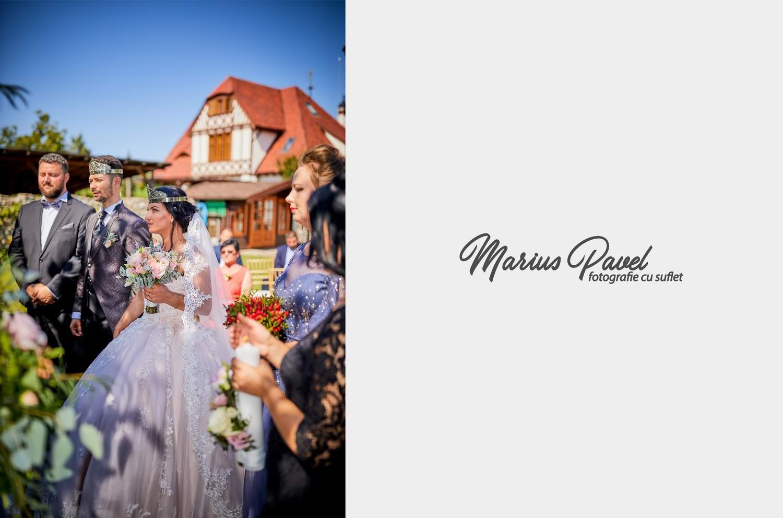 Fotografii cununie religioasa in aer liber Brasov la Prestigio Events