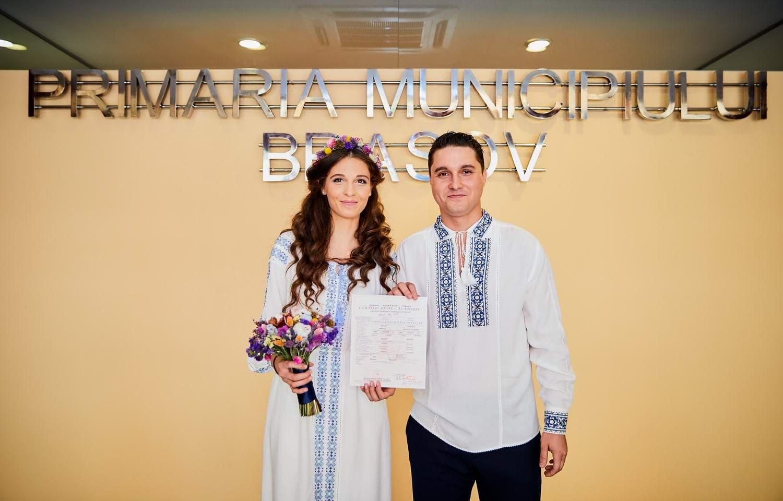 Cununie civila Primaria Brasov