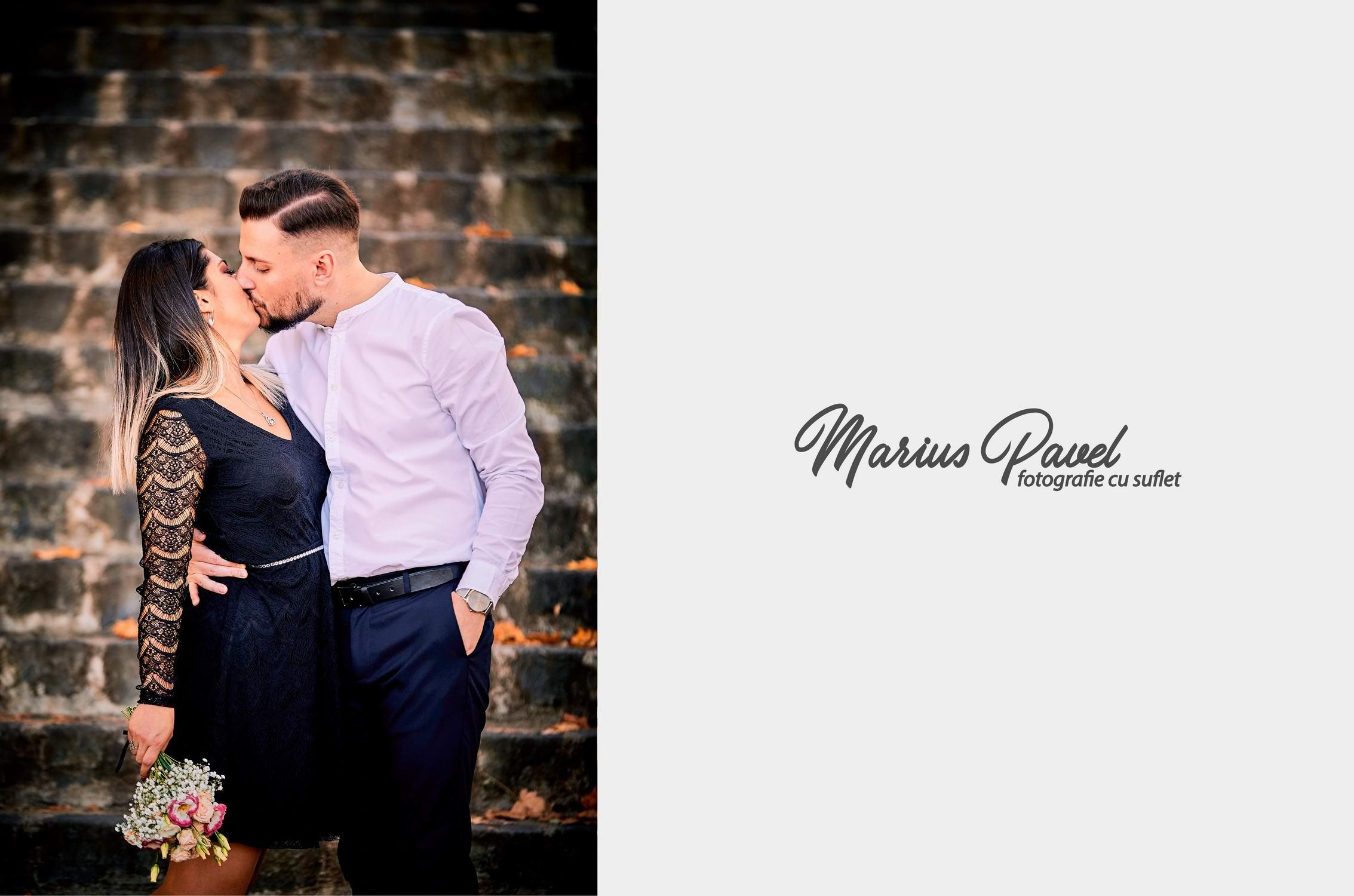 Cuplu toamna  - fotografii cu el si ea toamna