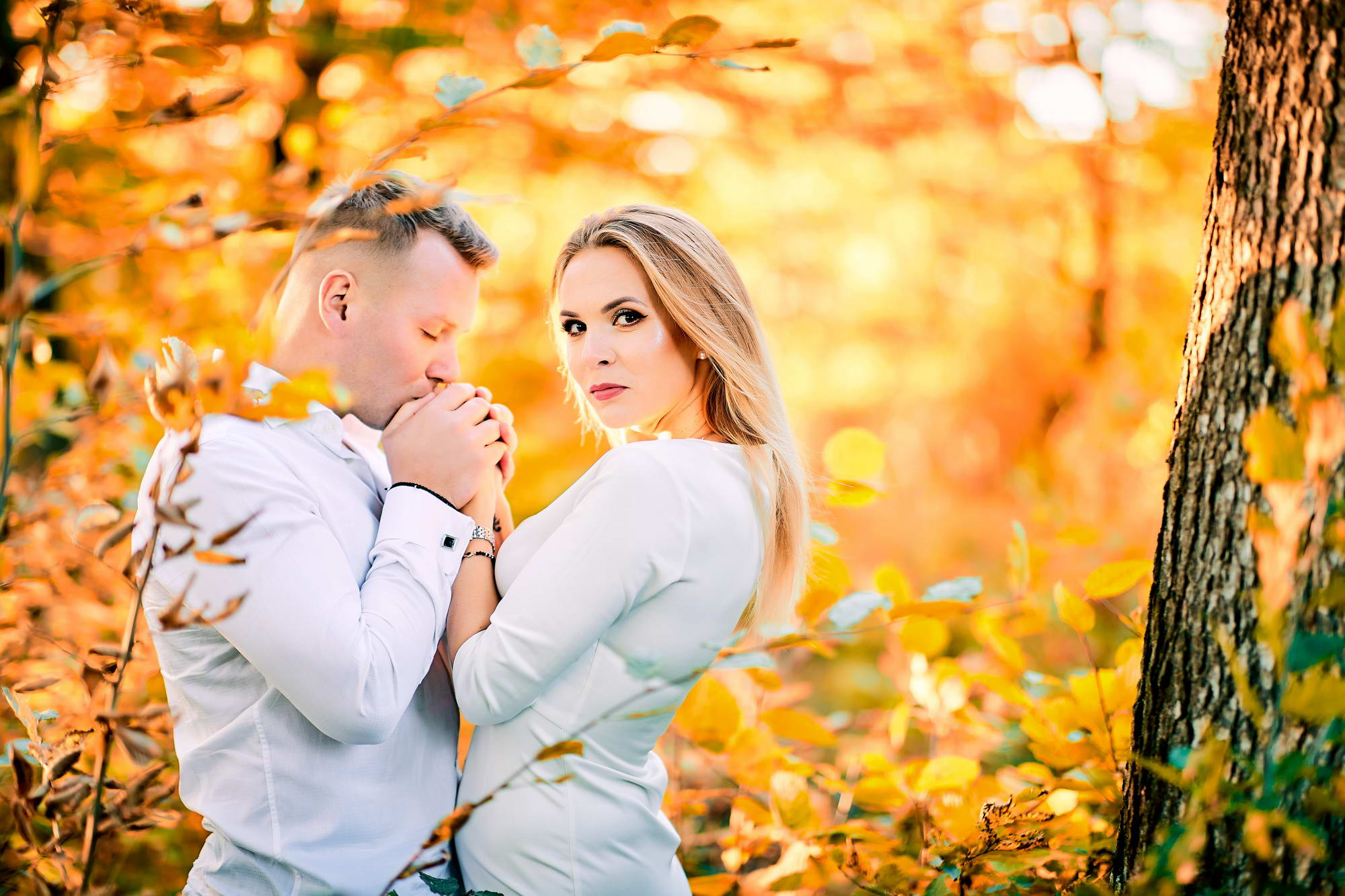 Cuplu In Decor De Toamna (13)