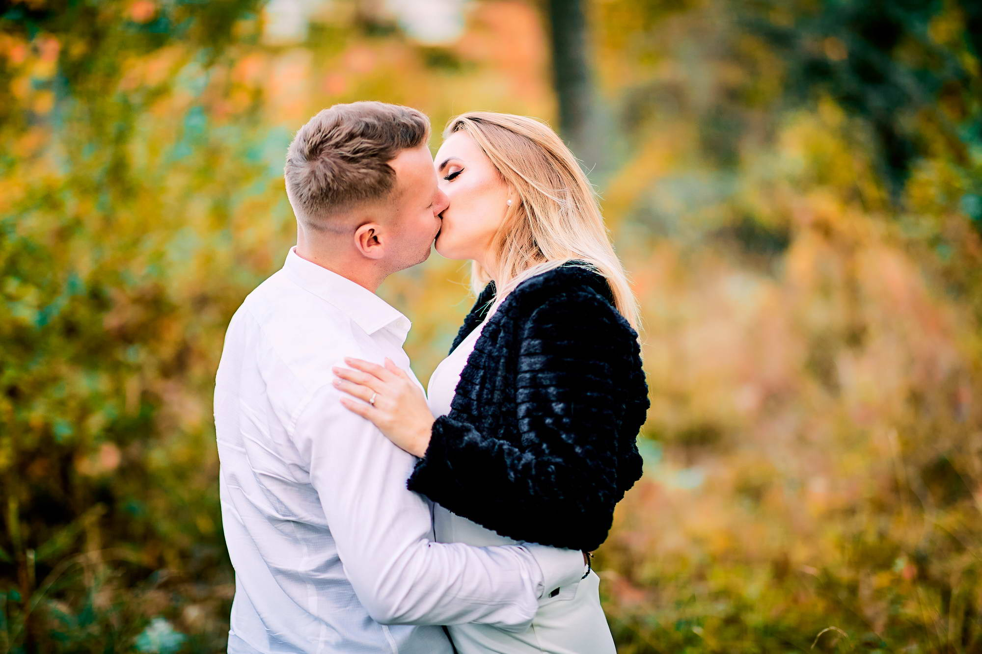 Cuplu In Decor De Toamna (30)